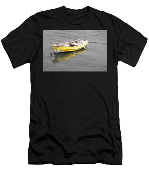 Yellow Boat Men's T-Shirt (Athletic Fit)
