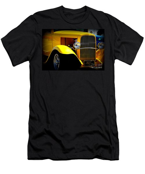 Yellow Boy Men's T-Shirt (Athletic Fit)