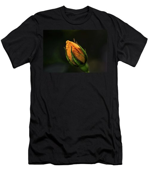 Yellow Bud Men's T-Shirt (Athletic Fit)
