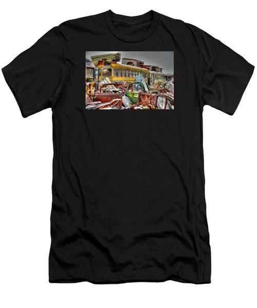 Yellow Bus Men's T-Shirt (Athletic Fit)