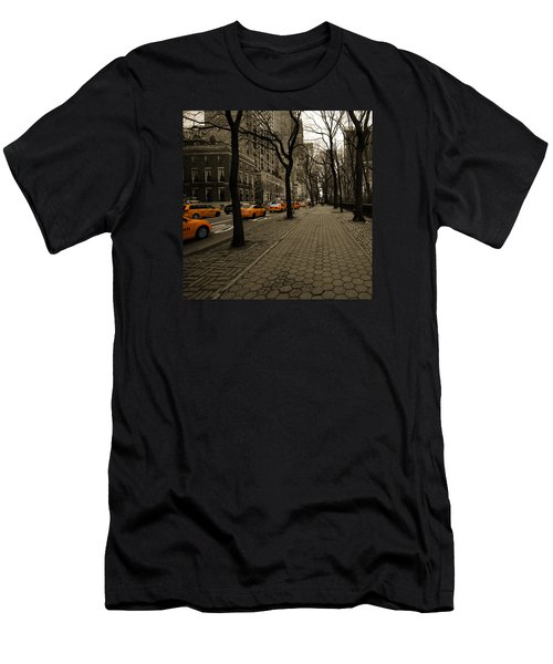 Yellow Cab Men's T-Shirt (Athletic Fit)