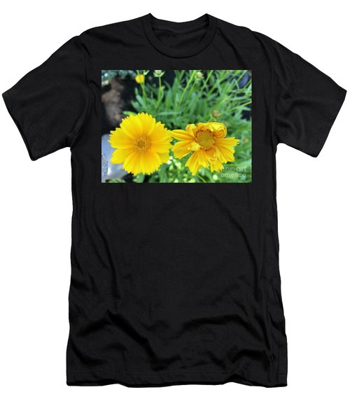 Yellow Coreopis Men's T-Shirt (Athletic Fit)