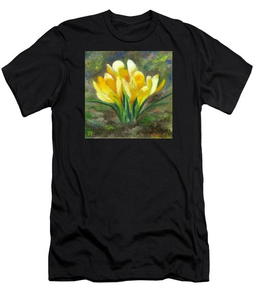 Yellow Crocus Men's T-Shirt (Athletic Fit)