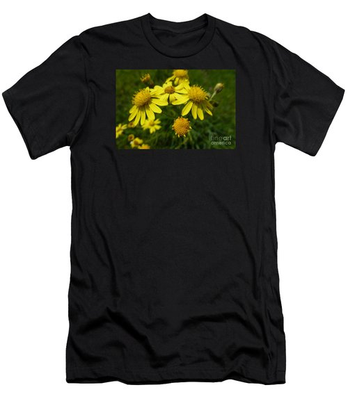 Yellow Daisies 2 Men's T-Shirt (Athletic Fit)