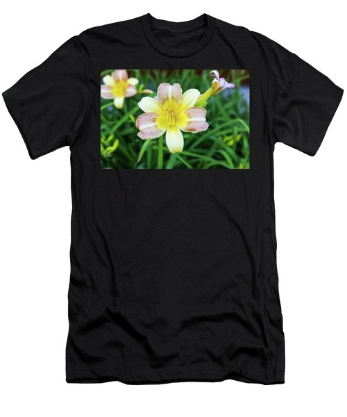 Yellow Daylily Men's T-Shirt (Athletic Fit)