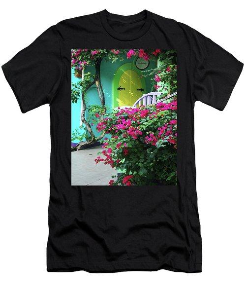 Yellow Door Men's T-Shirt (Slim Fit) by Michael Thomas