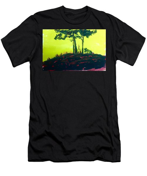 Yellow Dusk Men's T-Shirt (Athletic Fit)