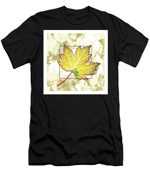 Yellow Fall Men's T-Shirt (Athletic Fit)
