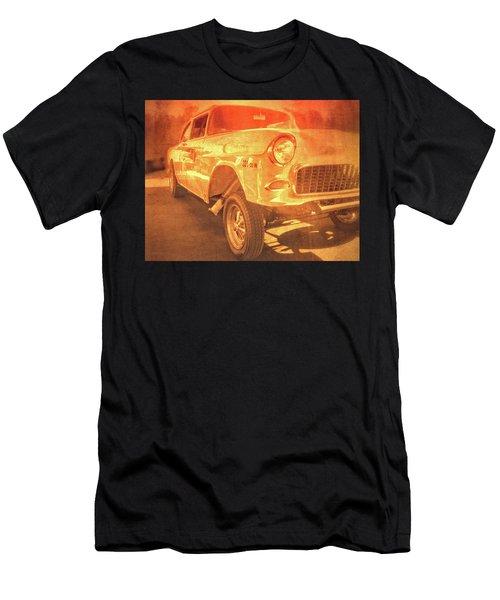 Yellow Gasser Men's T-Shirt (Athletic Fit)