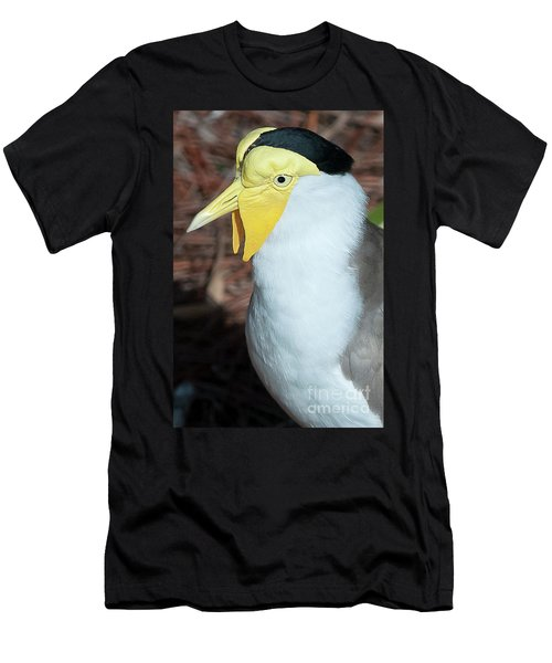 Yellow Headed Bird Men's T-Shirt (Athletic Fit)