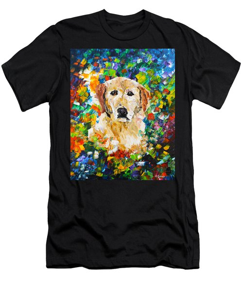yellow Lab Men's T-Shirt (Athletic Fit)