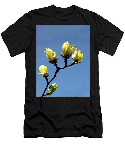 Yellow Magnolia Men's T-Shirt (Athletic Fit)