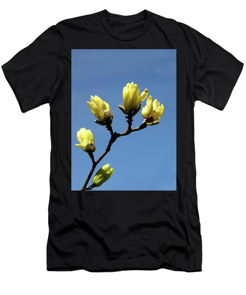 Yellow Magnolia Men's T-Shirt (Athletic Fit)