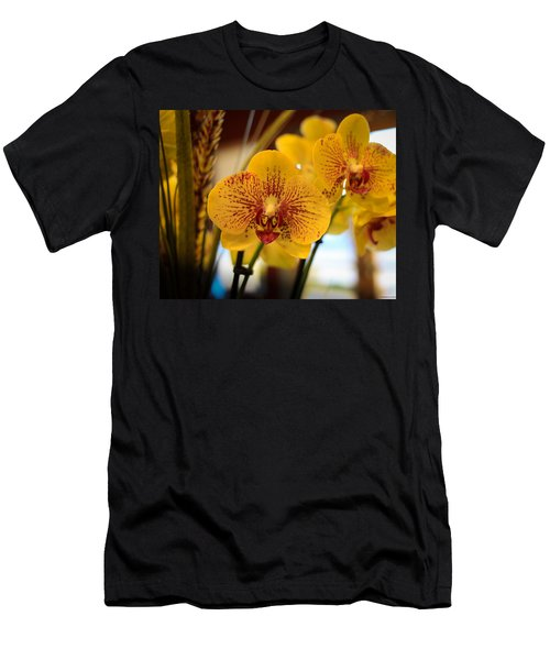 Yellow Orchis Men's T-Shirt (Athletic Fit)