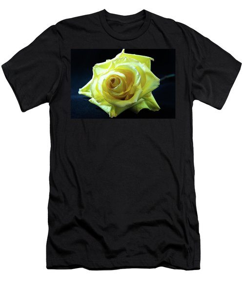 Yellow Rose-7 Men's T-Shirt (Athletic Fit)