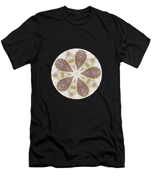 Yellow Star Thistle Men's T-Shirt (Athletic Fit)