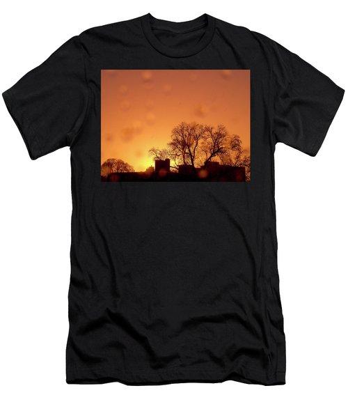 Yellow Sun Men's T-Shirt (Athletic Fit)