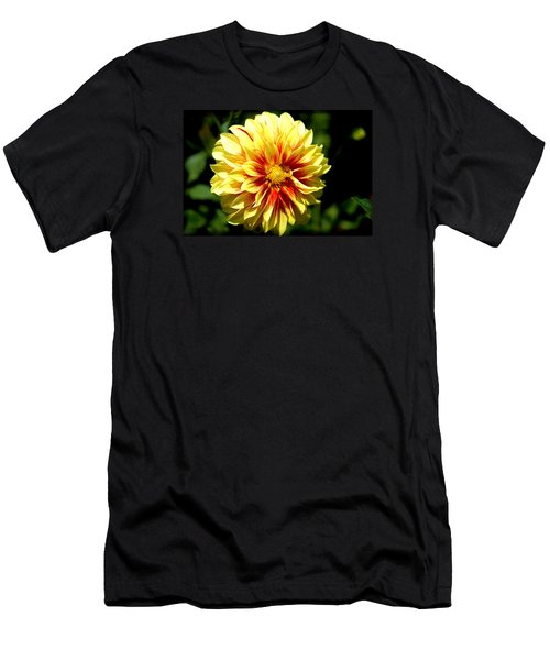 Yellow Sunshine Men's T-Shirt (Athletic Fit)