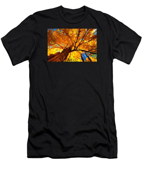 Yellow Tree Men's T-Shirt (Athletic Fit)