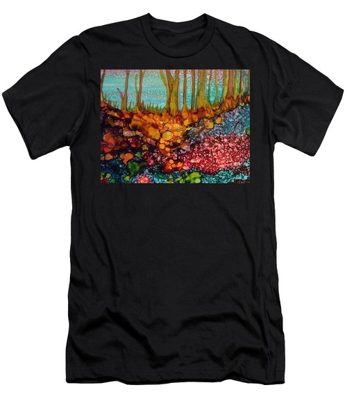 Yellow Trees Men's T-Shirt (Athletic Fit)