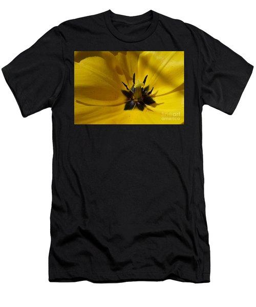 Yellow Tulip 1 Men's T-Shirt (Athletic Fit)