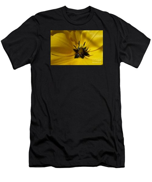 Yellow Tulip 1 Men's T-Shirt (Athletic Fit)
