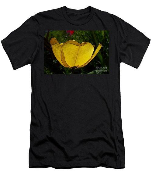 Yellow Tulip 2 Men's T-Shirt (Athletic Fit)