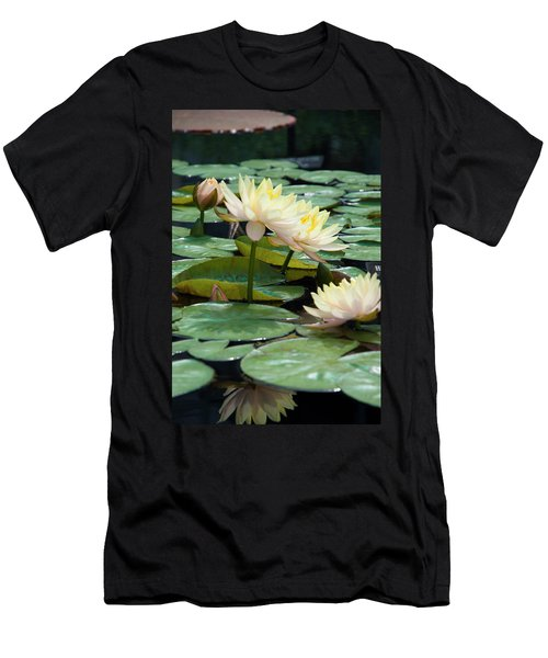 Yellow Water Lillies - Longwood Gardens Men's T-Shirt (Athletic Fit)