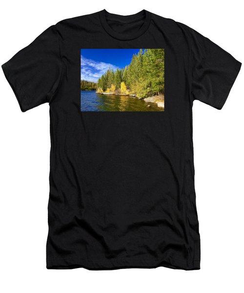 Golden Waters Men's T-Shirt (Athletic Fit)