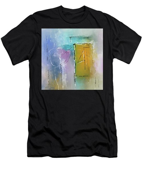 Yellows And Blues Men's T-Shirt (Athletic Fit)