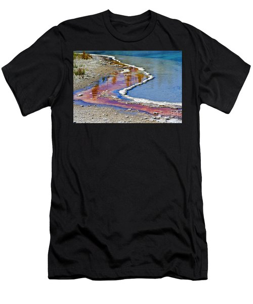 Yellowstone Abstract I Men's T-Shirt (Athletic Fit)