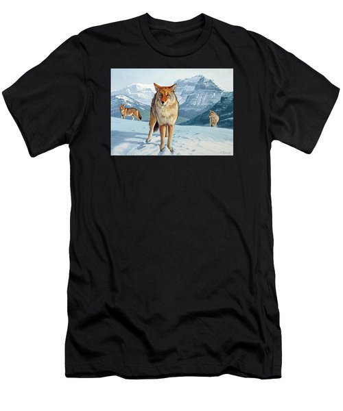 Yellowstone Coyotes Men's T-Shirt (Athletic Fit)