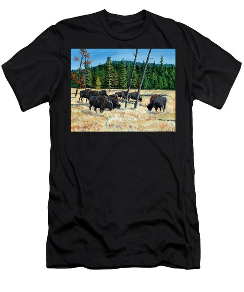 Yellowstone Grazers Men's T-Shirt (Athletic Fit)