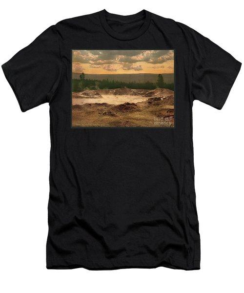 Yellowstone Paint Pot Men's T-Shirt (Athletic Fit)