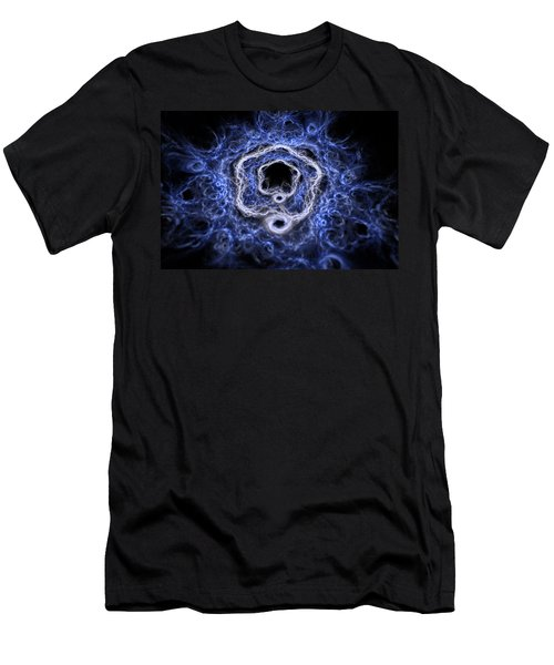 Men's T-Shirt (Athletic Fit) featuring the digital art Ylium by Michal Dunaj