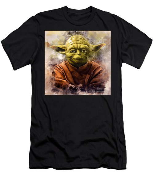 Yoda Art Men's T-Shirt (Athletic Fit)