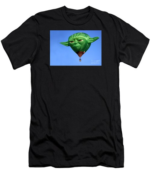 Yoda In The Sky Men's T-Shirt (Athletic Fit)