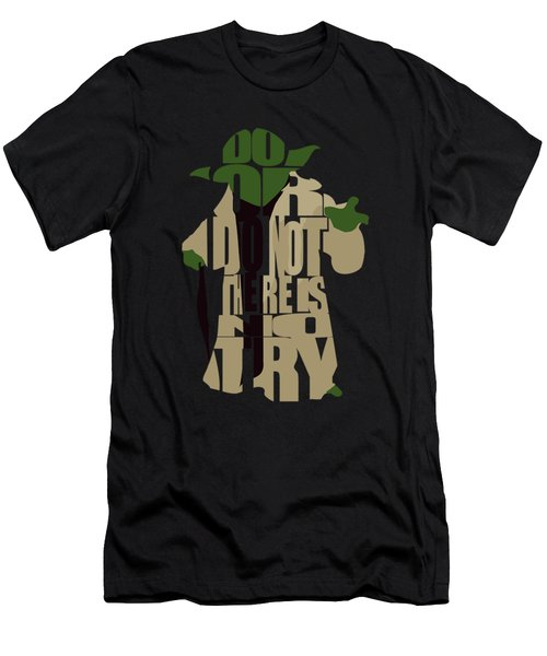 Yoda - Star Wars Men's T-Shirt (Athletic Fit)