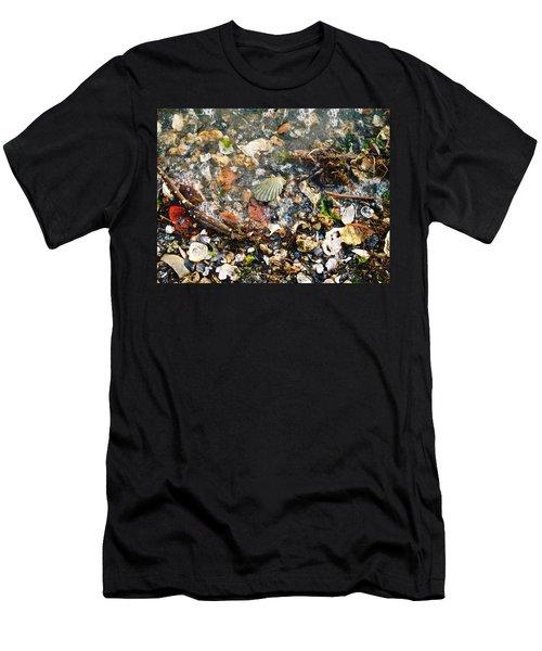 York Beach Shore Men's T-Shirt (Athletic Fit)