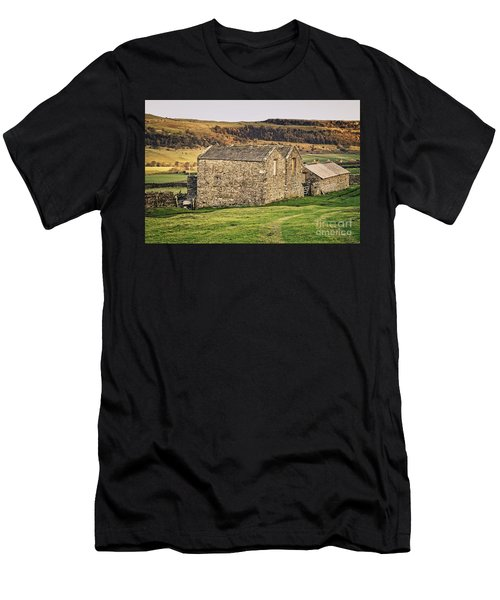 Yorkshire Stone Barns Men's T-Shirt (Athletic Fit)