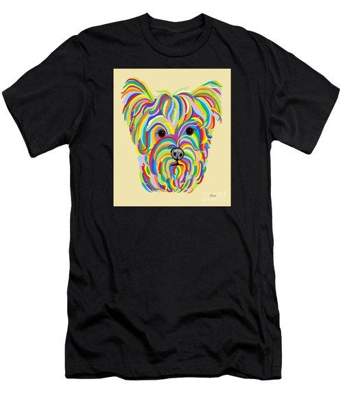 Yorkshire Terrier ... Yorkie Men's T-Shirt (Athletic Fit)