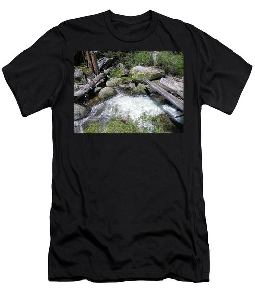 Yosemite Whitewater Men's T-Shirt (Athletic Fit)