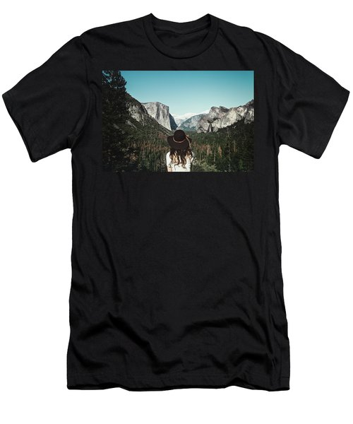 Yosemite Awe Men's T-Shirt (Athletic Fit)
