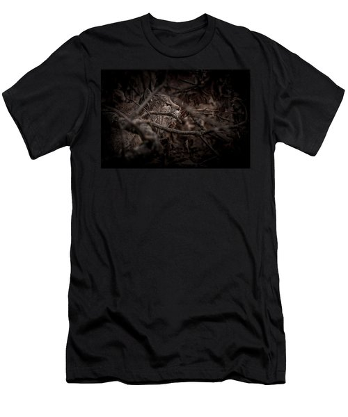 Yosemite Bobcat  Men's T-Shirt (Athletic Fit)