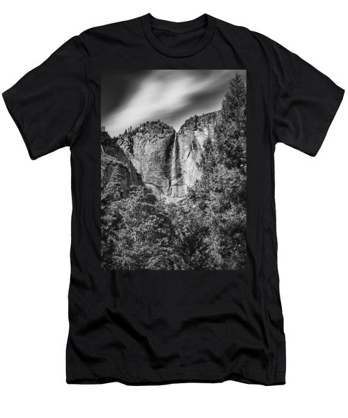 Men's T-Shirt (Athletic Fit) featuring the photograph Yosemite Falls by Chris Cousins