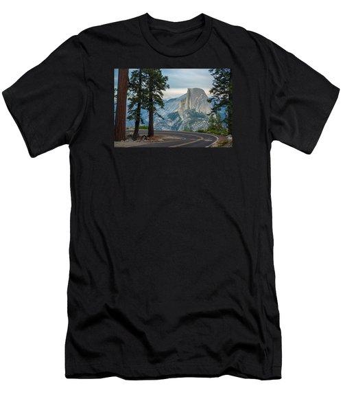 Yosemite Glacier Point Men's T-Shirt (Athletic Fit)