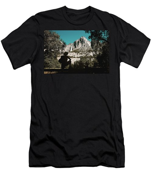 Yosemite Hiker Men's T-Shirt (Athletic Fit)