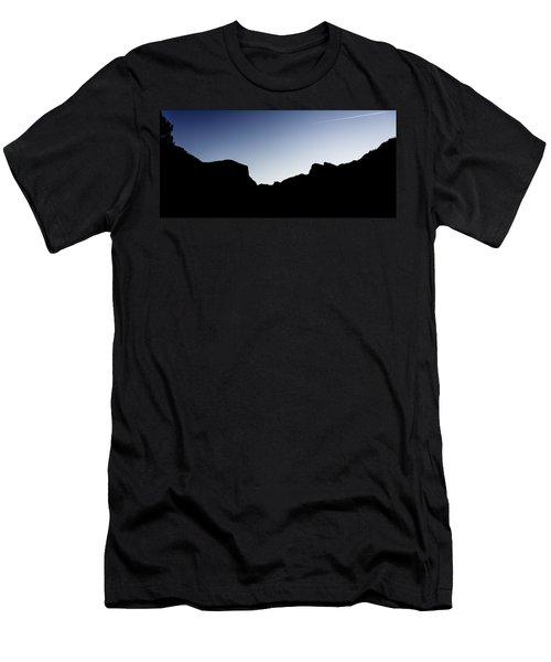 Yosemite In Silhouette Men's T-Shirt (Athletic Fit)