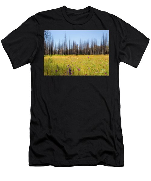 Yosemite Juxtaposition By Michael Tidwell Men's T-Shirt (Athletic Fit)