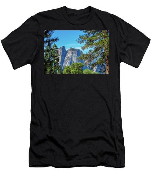 Yosemite Morning Men's T-Shirt (Athletic Fit)